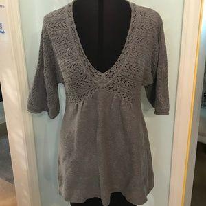 Gray Sweater Apt 9 Petite Size M